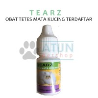 Obat Kucing Tetes Mata Tear Z Terdaftar DEPTAN