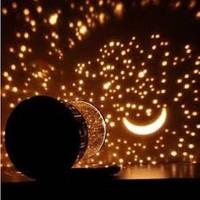 Jual Lampu Tidur Star Master Putar Dan Music Led Light Bulan Bintang Murah
