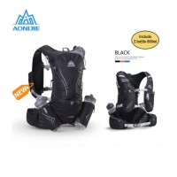 Aonijie Hydration Backpack C929 - 15L Trail Marathon Running - BLACK