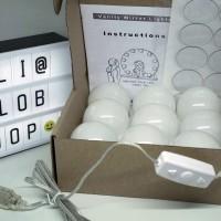 VANITY MIRROR LED Light 10 Bulb, Bohlam Lampu Cermin Kecantikan Makeup