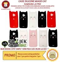 Paling Bagus Termurah Samsung J2 Pro Case MiaOo Cat Casing Kucing Hp