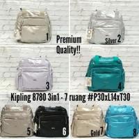 Terbaru N Trendy Tas Kipling 3 In 1 Metalik Premium Import Tas 5462900dc3