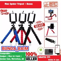 Harga tripod spider octopus sp99 tripod flexible holder selfie | antitipu.com