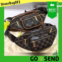 Tas Pinggang Waist Bag Wanita Premium LV Zipper 003