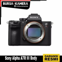 New...!!! Sony Alpha A7R III Body
