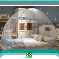 Butterfly KL6180 kelambu tempat tidur bed canopy summer blue