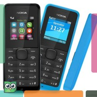 ^Halo^ Nokia 105 FM Hp murah Mobile Phone Single SIM GSM hP Nokia
