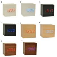 Jam Alarm Digital dengan Kalender & Thermometer, Bentuk Kotak, Bahan