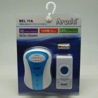 Bell Pintu Rumah Wireless ARASHI AB 11A