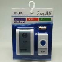 Bell Pintu Rumah Wireless ARASHI AB 11B