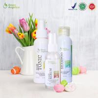 Obat Anti Botak - Green Angelica Paket Maximal - Penumbuh Rambut