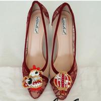 Shoes clip klip jepit bros sepatu aksesoris hiasan sepatu