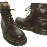 Sepatu Boots Docmart Dr Martens Pria ( 100% Kulit Asli) Diskon