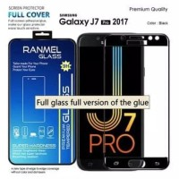 tempered glass anti gore kaca 5D full samsung galaxy J7 pro