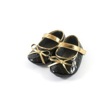 Sepatu Prewalker baby Shoes perempuan tamagoo - Charlote Black Pita 68e283db94