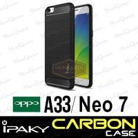 Oppo A33 / Neo 7 case IPAKY CARBON / Sarung Hp / Case Handphone