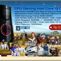 Komputer PC Rakitan Gaming Intel Core i3 Clarkdale - hanya CPU