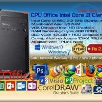 Komputer PC Rakitan Office Intel Core i3