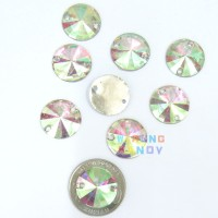 Diamon Resin Krucut 18m 10pc Putih AB