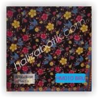 Gambar Baju Batik, Grosir Baju Batik, Seragam Batik, HM010 Biru