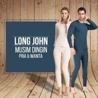 Longjohn Pakaian Untuk Musim Dingin wanita, Long Jhon Winter Long John