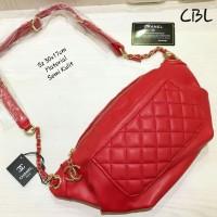 4db0b35f647b tas wanita cewek murah waist bag ootd Namita slingbag