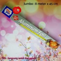 Klinpak Aluminium Foil Jumbo Box 8m x 45cm