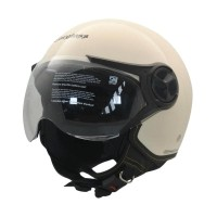 Cargloss YR Ghotic Helm Half Face - Avorio Naide