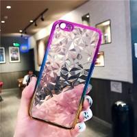 Oppo F7 F 7 Plus Luxury 3D Diamond slim soft case back cover Casing hp