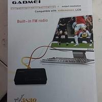 Eksternal TV Tuner Gadmei untuk LCD tanpa cpu tipe 5830