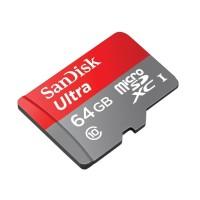 Unik Memory card Sandisk Ultra Microsd 64gb Class 10 Non Ada Diskon