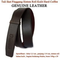 Ikat pinggang Tali Genuine Leather Hard coffee