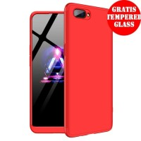 360 Hard Case Armor Full Cover Depan Belakang Casing HP Oppo A3S/A5