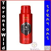 TORONTO SPRAY WILD 100ML : GORILLA PARFUM ORIGINAL UNTUK PRIA MURAH