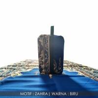 Sajadah Dompet Motif Zahra Biru 0852-2765-5050