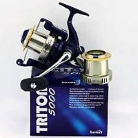 Reel Banax Triton 5000. 12 ball bearings. Alat pancing murah MURAH