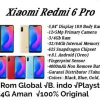 HP XIAOMI REDMI 6 PRO (XIOMI MI 6 PRO RAM 4GB INTERNAL 64GB 4/64) 1THN