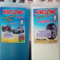 Paket 2 liter shampo dan semir mang asep