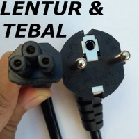 Kabel Power Adaptor Charger Laptop 3 Lubang TEBAL