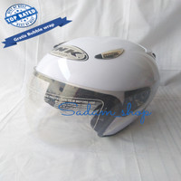 Helm ink replika klasik centro putih model sekarang