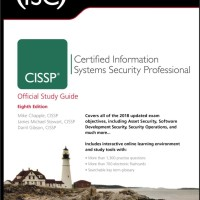 CISSP Official Study Guide 8th Edition Ebook