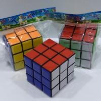rubik 3x3 3x3x3 tanpa stiker stikerless mainan anak edukasi termurah