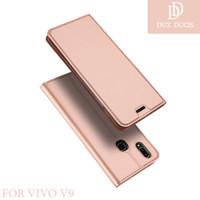 Flipcase Dux Ducis Skin Original Wallet Cover Case HP Vivo V9/Y85