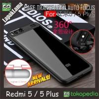 Softcase Auto Focus Transparan Case Casing Cover HP Xiaomi Redmi 5