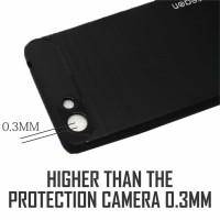 Softcase TPU Carbon Fiber Slim Case Cover Casing HP Oppo A33/Neo 7