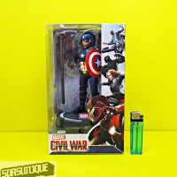 Action Figure Captain Us Civil War With Stand Base