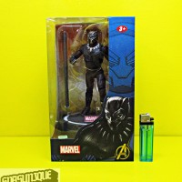 Action Figure Black Panther With Stand Base