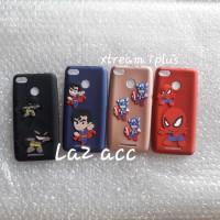 Case evercoss xtream 1plus karakter 3d hero softcase casing silikon
