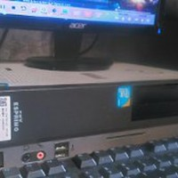 satu set Mini PC Desktop Komputer Karaoke Fujitsu FMV E Paling Laris