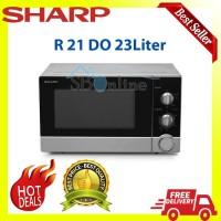 MICROWAVE SHARP R 21 DO 23 Liter LOW WATT